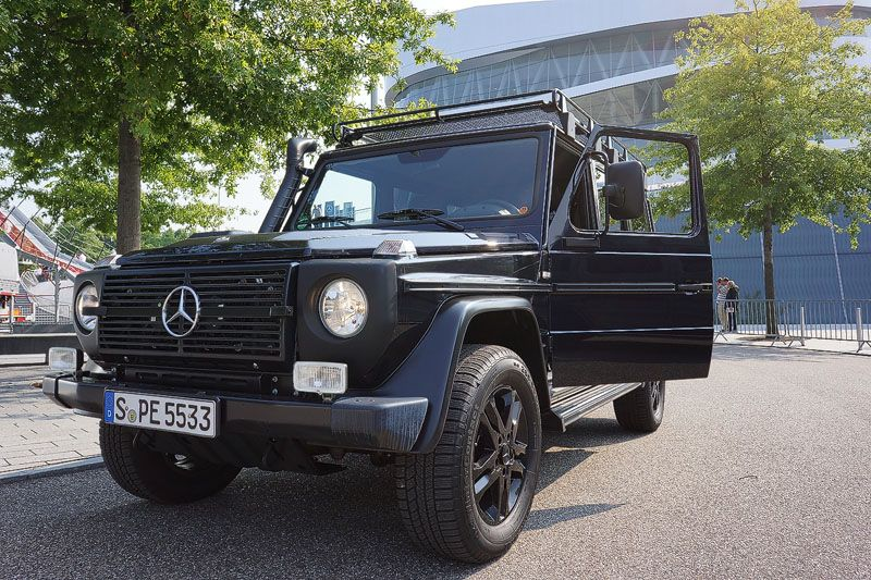 Die mercedes benz g klasse professional der iron sch ckl for Mercedes benz iron