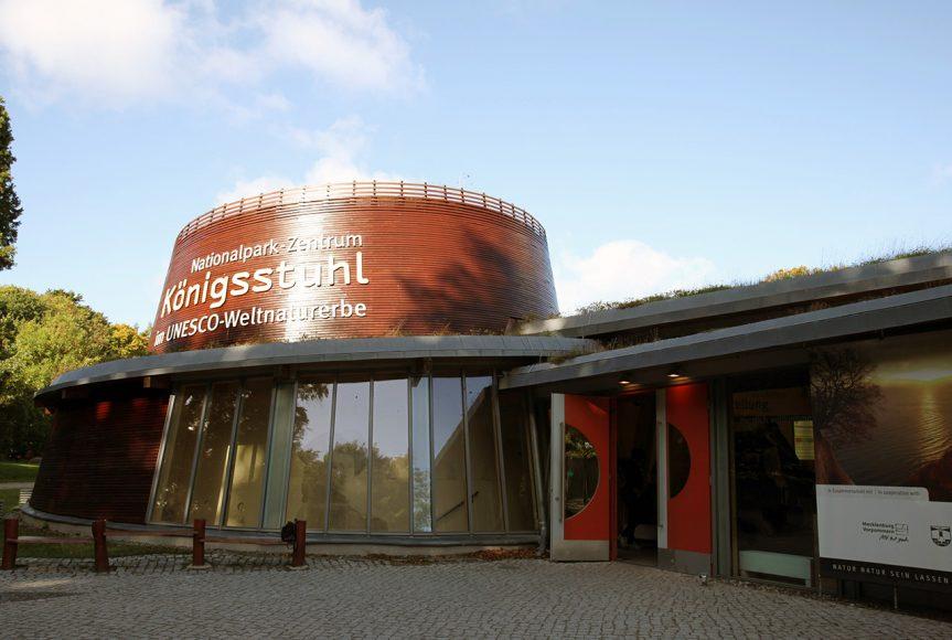 Aussenansicht Nationalpark-Zentrum Königsstuhl