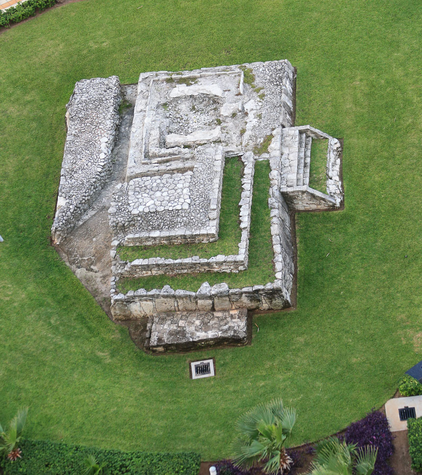 RIU Palace Peninsula archäologische Ausgrabungsstätte