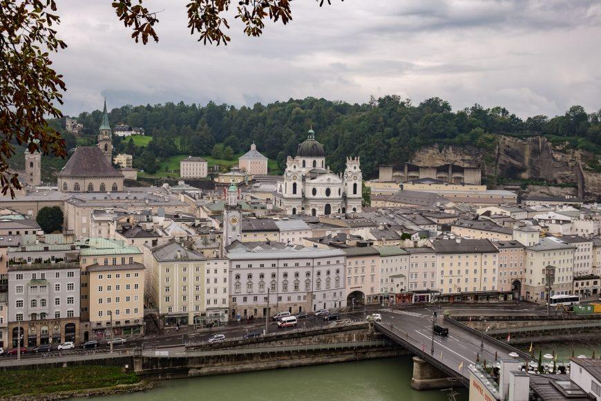 Blick auf die Altstadt Salzburg