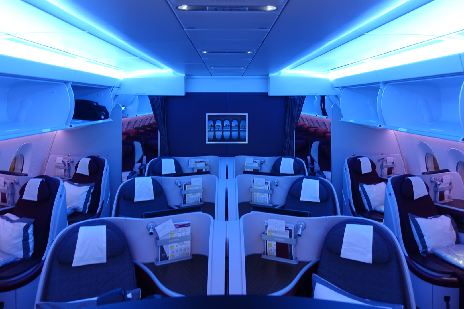 qatar airways business class erfahrungsbericht test airbus a350 doha. Black Bedroom Furniture Sets. Home Design Ideas