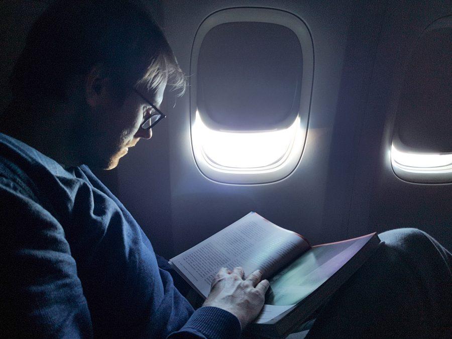 Qatar Airways Business Class nach Auckland - Lektüre