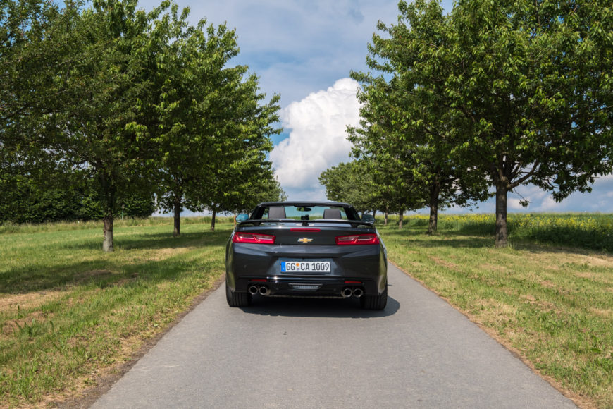 Chevrolet Camaro V8 Convertible - Roadtrip Odenwald