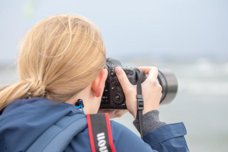 Gewählte Kombination aus Canon EOS 7D Mark II und EF 70-200 f/4L IS USM